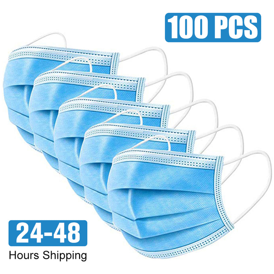 Bacteria Proof 3 Layer Ply Filter Mask