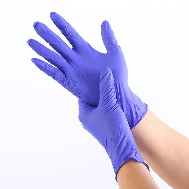 Disposable Rubber Latex Gloves