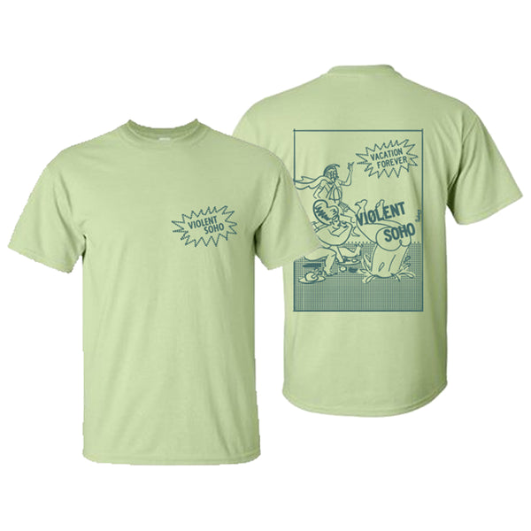 VACATION FOREVER PISTACHIO T-SHIRT