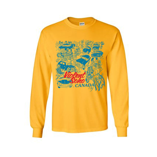 CANADA GOLD LONG SLEEVE