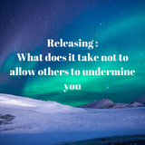 Releasing Program - Being Undermined