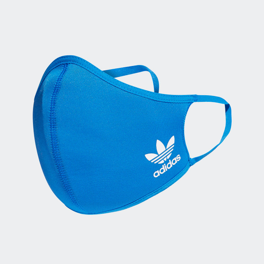 Adidas - Face Covers 3 Pack - Various SIzes - Bluebird