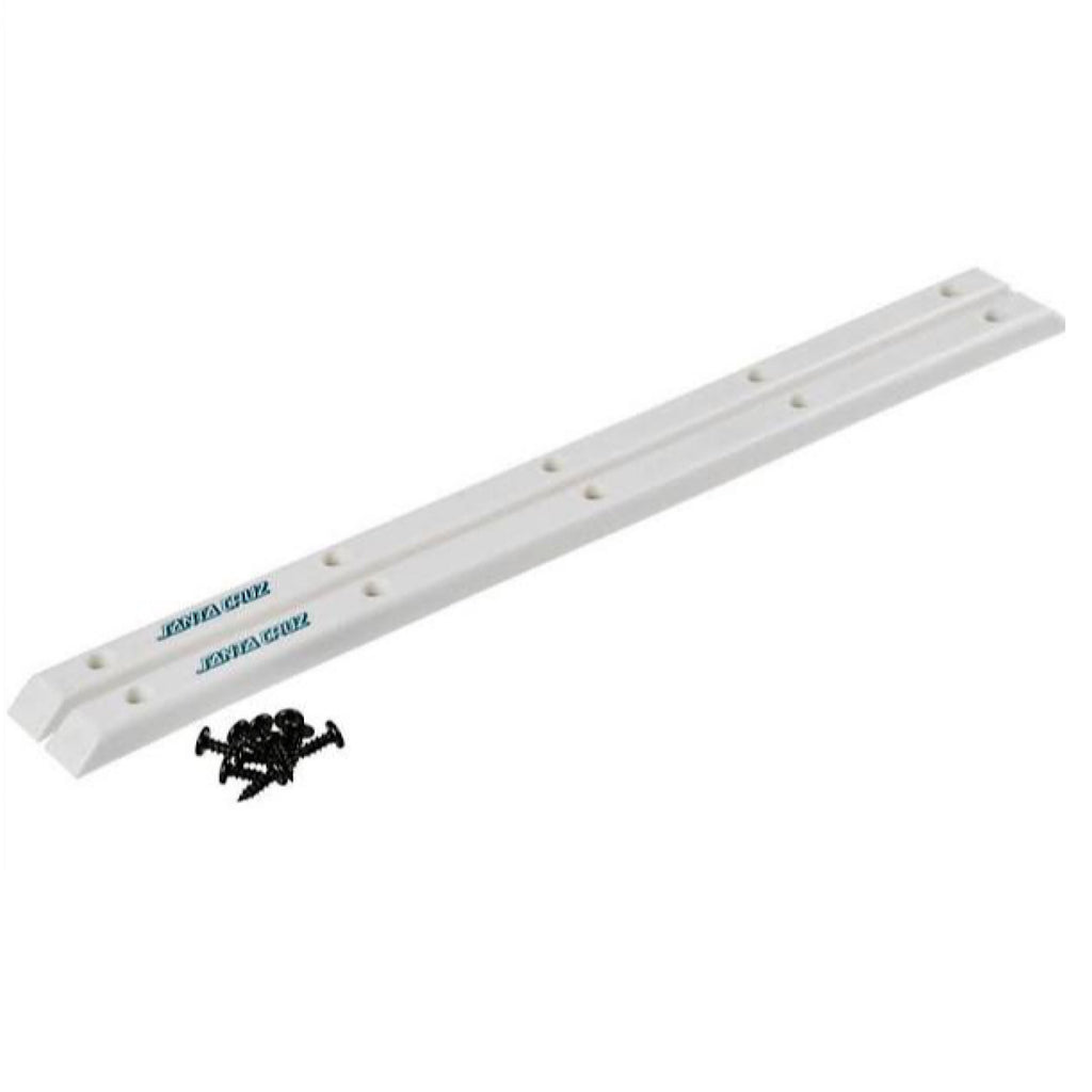 Santa Cruz - Slimline Rails - White