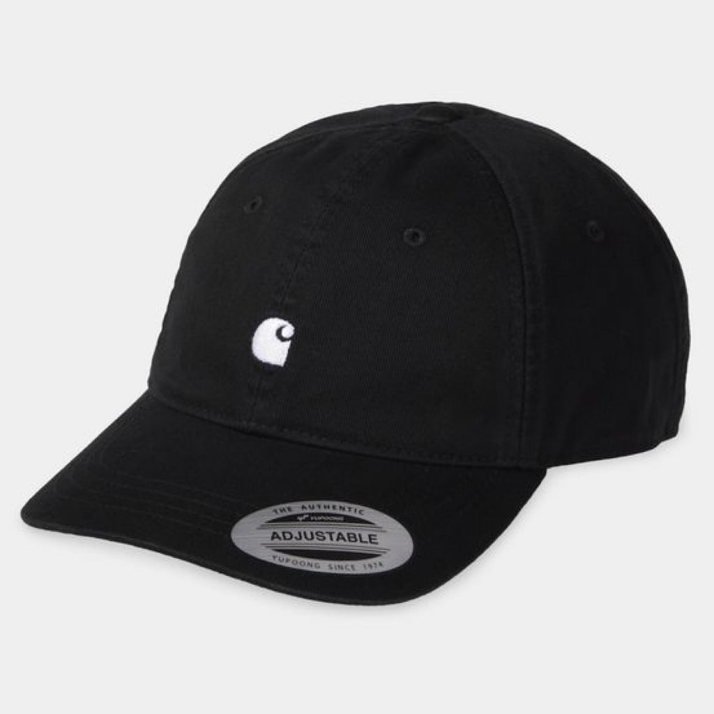 Carhartt WIP - Madison Logo Cap - Black/White
