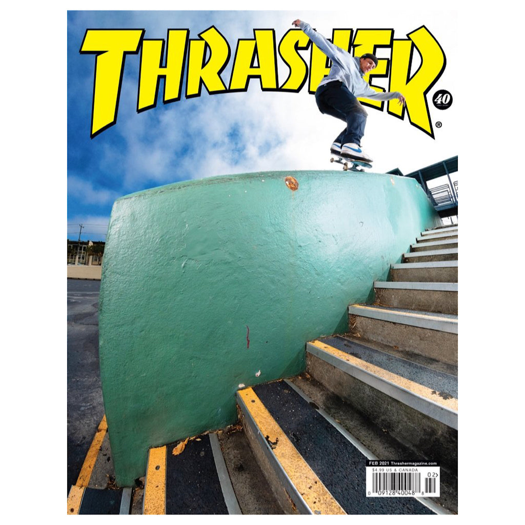 Thrasher Magazine - February 2021