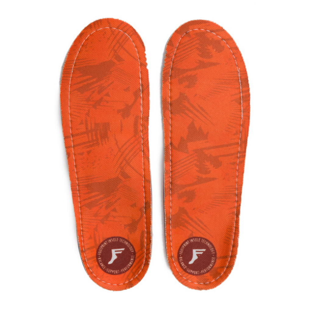 Footprint - KingFoam Orthotic - Orange Camo