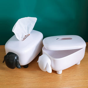 Cartoon Lamb Tissue Box