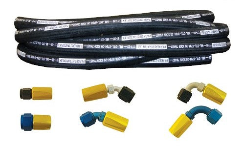 300-12D Stratoflex Straight Flared Fitting for 111 Hose