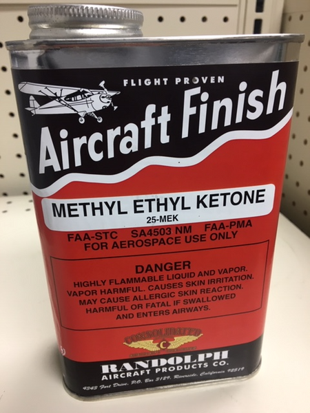 MEK-QT Methyl Ethyl Ketone, Quart