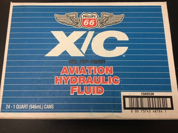 665606H - Hydraulic Oil - 24X1qt/Case