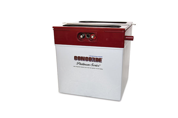 RG-380E/44 Concorde Sealed Lead Acid Battery