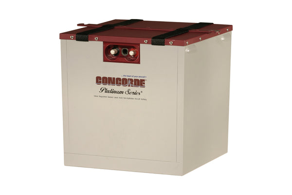 RG-380E/44K Concorde Sealed Lead Acid Battery