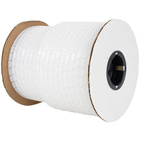 "SWP-1/2 Spiral Wrap, Polyethylene, Clear, 1/2"", Sold Per Ft"