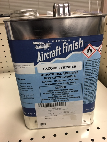 LAQTHIN-GL Lacquer Thinner, Gallon