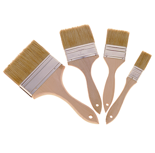60W-2 Wood Handle Disposable Paint Brush, 2""