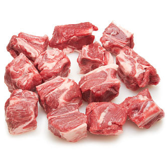 Fresh Pakistan Beef Cubes With Bone - 250gms