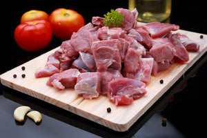 Fresh Pakistan Mutton - Bone in - 250 gms