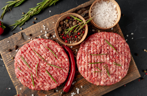 Fresh Angus Beef Burgers (2 Pieces) - 200gms Certified