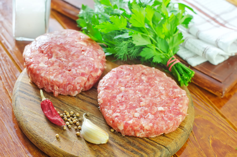 Fresh Chicken Burgers (2 pieces)- 250 gms with Marination Options