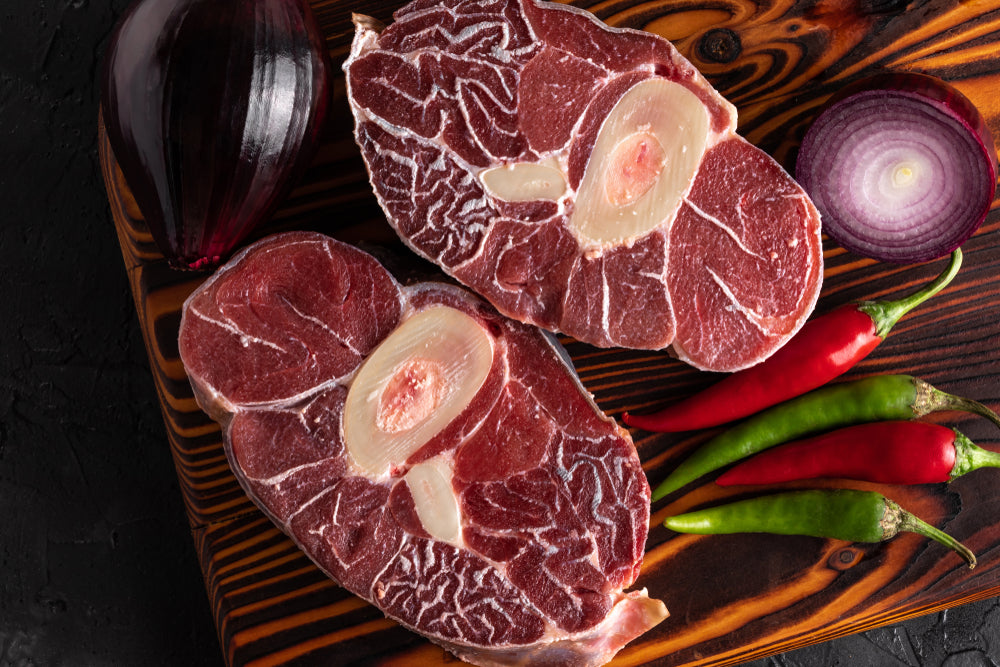 Fresh Beef Shank Slices (Osso Bucco) - 450gms / 2 Pieces