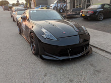 Load image into Gallery viewer, 370z amuse front splitter kit with rods