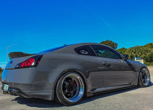 G37 coupe side splitter