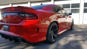 Dodge Charger Side splitters fit SRT, Scat Pack, RT, GT