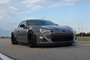 FRS BRZ 86 gt86 Side splitters with optional winglets fits all models 13 to 20