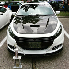 Load image into Gallery viewer, Dodge Dart front splitter Rods included