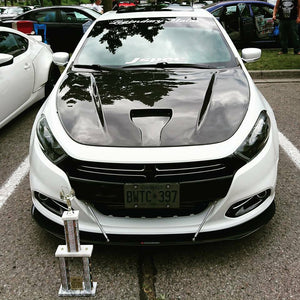 Dodge Dart front splitter Rods included