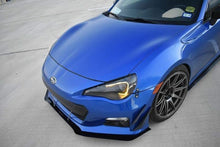 Load image into Gallery viewer, 2013 - 2016 BRZ Front Splitter Kit Gloss Black