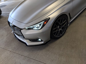 2017 - 2020 Q60 Coupe Front Lip Splitter