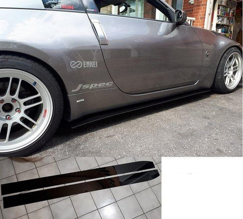 350z Straight Side Splitter + optional Winglet