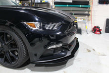 Load image into Gallery viewer, 2015 - 2017 Front splitter Mustang base model.