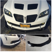 Load image into Gallery viewer, Pontiac g8 front splitter rods included GLOSS BLACK