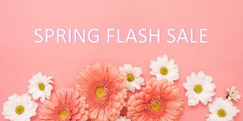 SPRING SALE - HAPPENING NOW! - EXTENDED THROUGH THE WEEK!