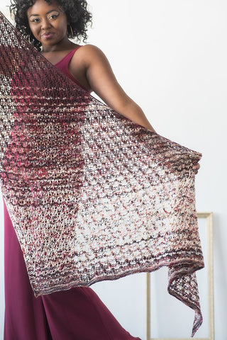 FEATURED KIT: Alla Prima Shawl by Susanna IC