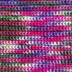 zen yarn garden geranium garden grandpa's ugly blanket single crochet