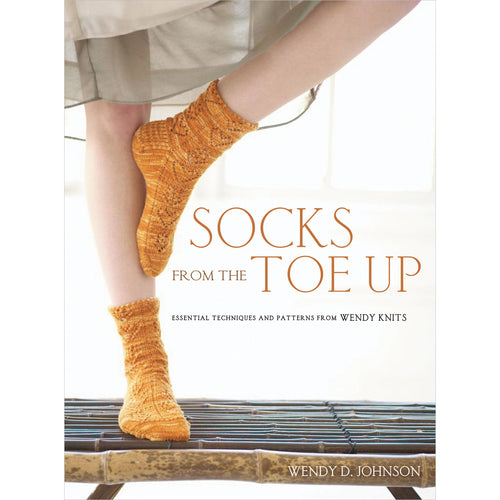 Socks From The Toe Up - Grandpa's Ugly Blanket