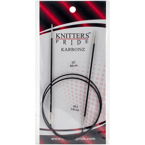 Knitter's Pride-Karbonz Fixed Circular Needles 32