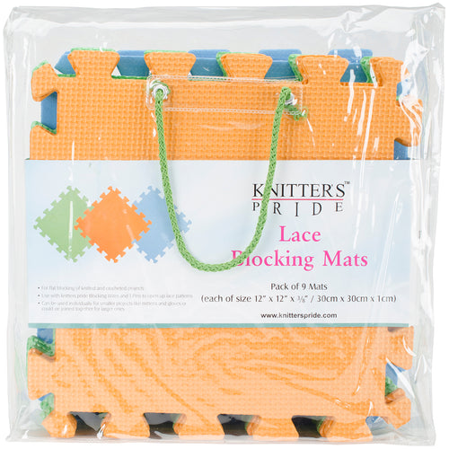 Knitter's Pride Lace Blocking Mats 9-pkg- - Grandpa's Ugly Blanket