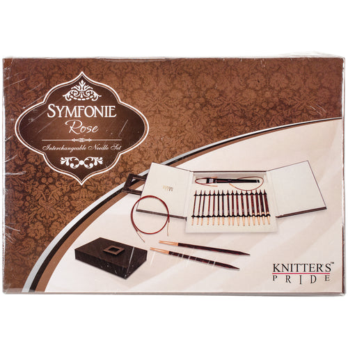 Knitter's Pride-rose Interchangeable Deluxe Needles Set- - Grandpa's Ugly Blanket
