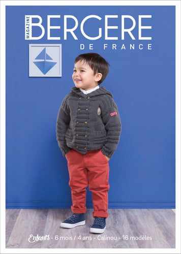 Bergere De France N (degree) 2-kids 6 Months-4 Years: Calinou - Grandpa's Ugly Blanket