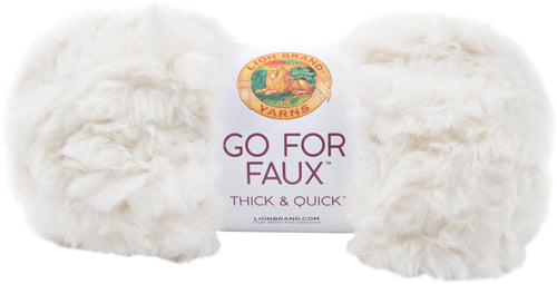 New! Lion Brand Yarn Go For Faux Thick & Quick-baked Alaska - Case Pack Of 3 - Grandpa's Ugly Blanket