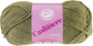 New! Lion Brand Touch Of Cashmere Yarn-Willow - Pack Of 3 - Grandpa's Ugly Blanket