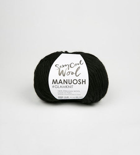 Sexy Cool Wool MANUOSH - Noir - Grandpa's Ugly Blanket