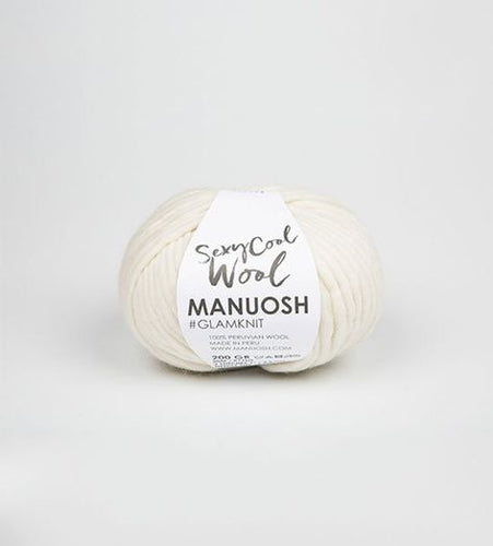 Sexy Cool Wool MANUOSH - Snow - Grandpa's Ugly Blanket