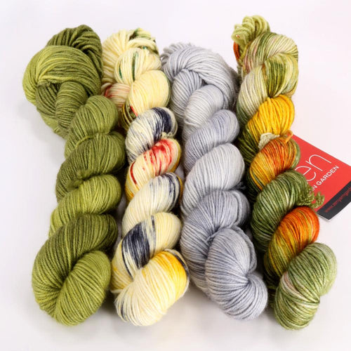 Zen Yarn Garden Gradient Quartet - Ted (SF) - Grandpa's Ugly Blanket