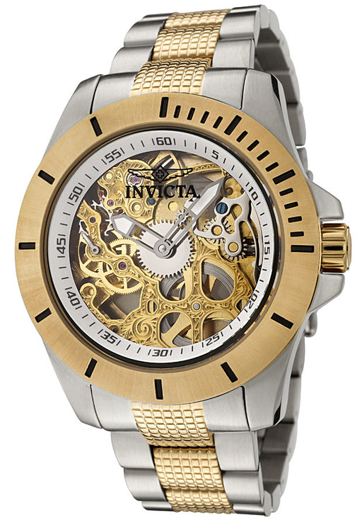 Men's Pro Diver Mechanical Two Tone Stainless Steel