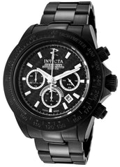 Invicta 0785 Men's Reserve Automatic Chronograph Black Stainless Steel